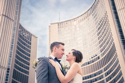 Toronto City Hall Wedding Ceremony, Intimate Wedding Ceremony in Toronto, Toronto Photography locations, Weddings at The Loft in The Distillery District, May weddings, Small Ceremony and Reception ideas for Toronto, Wedding photography in Nathan Philips Square, Toronto Distillery District, The Loft in the Distillery District, The Boiler House loft Wedding ideas, The Boiler house loft, Mill Street Brewery, Weddings in Archeo, El Catrin, Portuguese Wedding ideas, Modern wedding ideas, Toronto Wedding Photography, Toronto Wedding Photographers, Halton Hills Wedding Photographers, Halton Hills Wedding Photography, Acton Georgetown Photographers, Bowtie for groom, Bridal updo hairstyle, Wedding bouquet idea, Best Toronto Wedding locations