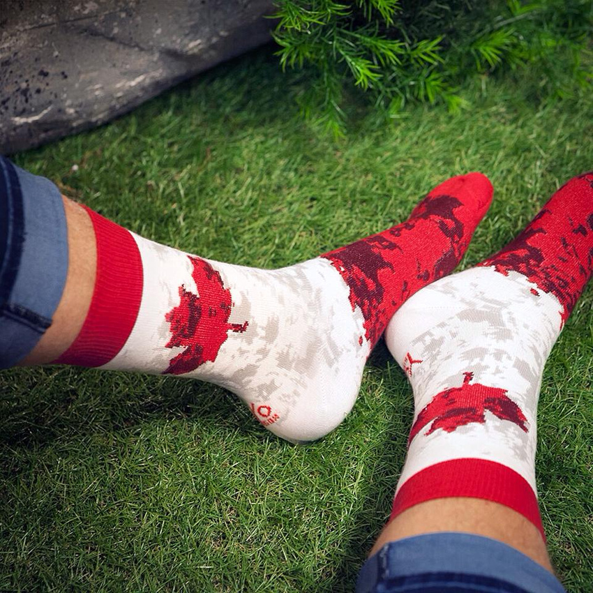 Canadian socks provided by Yo Sox, studio60 photography on Canada Day, Oh Canada, Happy Canada Day, Canada day in Acton, Fireworks, What to do for Canada day